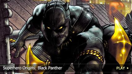 News video: Superhero Origins: Black Panther